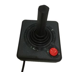 Image 3 - 프리미엄 조이스틱 컨트롤러 핸드 헬드 게임 atari 2600 레트로 4 웨이 레버 및 싱글 액션 버튼 용 휴대용 비디오 게임 콘솔