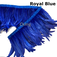Free shipping New 5yard 35 40cm Rooster Coque Tail Fringes Sewing on Rooster Tail feather trimming/ribbon 22 colors