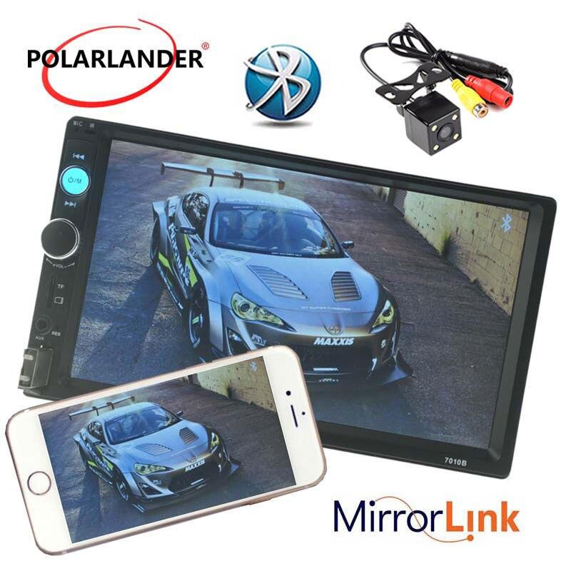 Lecteur Radio cassette Autoradio Auto lien miroir Autoradio modèles généraux 7 ''2 DIN ecran tactile LCD Bluetooth appel mains libres - 6