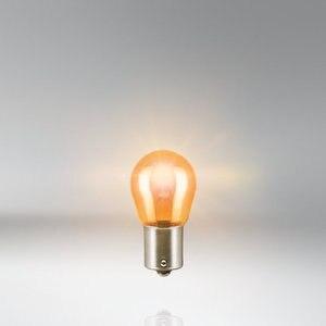 Image 4 - OSRAM 7507 PY21W Metal tabanlar Amber dönüş sinyal ışığı ters lambalar OEM otomatik fren ampuller S25 21W 12V orijinal (10 adet)