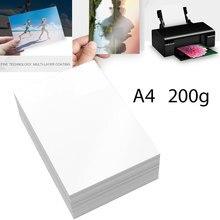 A4 фотобумага глянцевая фотобумага для принтера глянцевая бумага для струйного принтера офисные принадлежности 20 листов/упаковка