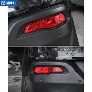 Image 4 - Mopai Auto Licht Montage Voor Jeep Cherokee Auto Achterbumper Staart Mistlamp Lamp Behuizing Cover Voor Jeep Cherokee Auto accessoires