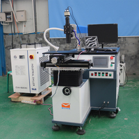 fiber laser welding machine 200W laser weld for gold silver in jinan