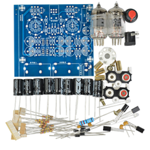 1pc Tube Amplifier Audio Boards High Quality 2.0 Channel Pre-Amp Audio Mixer 6J1 Valve Bile Buffer Amplifier Audio Board Diy Kit цена 2017