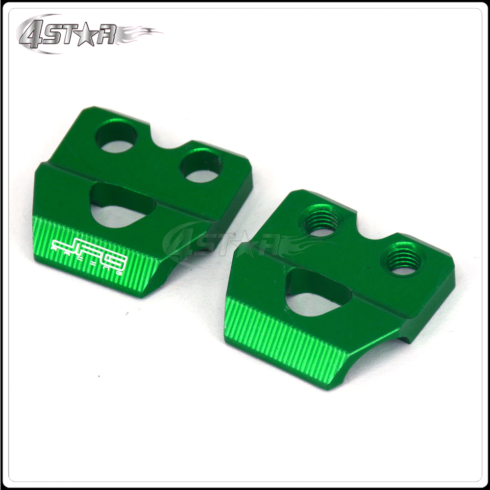 KX250 KX125 KX250F KX450F KFX450R KFX400 KX Green Brush Handguard Hand Guards