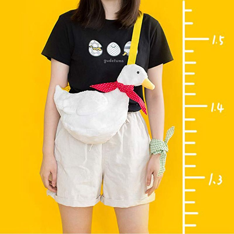 Duck Shoulder Bag Costume Bag Anime Novelty Ita Bag Cosplay Anime Expo Halloween Costume Ball Bag