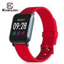 Fitness Bracelet IPS Color Screen IP68 Waterproof Heart Rate Monitor Pedometer Smart Watch Tracker Sports Watch for Android IOS men watch bluetooth smart bracelet watch sports blood heart rate monitor color screen android ios pedometer watches w1