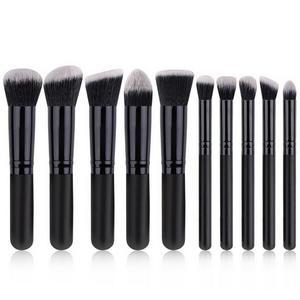 10 Pcs makeup brushes Portable