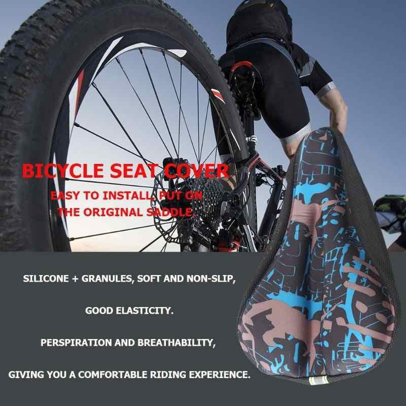 3D JEL Bisiklet sele kılıfı Erkekler Kadınlar MTB Yol Döngüsü selle velo rota coprisella bici asiento bicicleta jel yumuşak bisiklet klozet kapağı