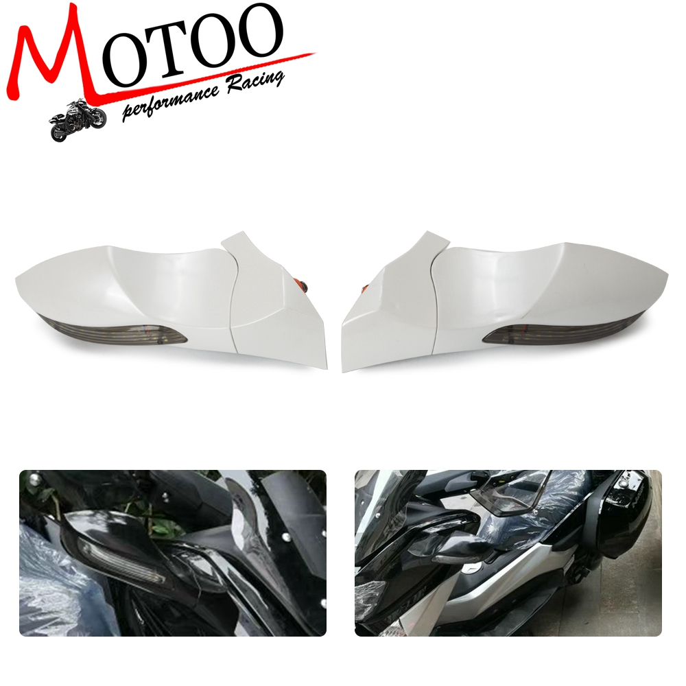 Free Shipping Modified Motorcycle NMAX155 Mirror Parts Led Turn Light Side Mirror For YAMAHA NMAX 155