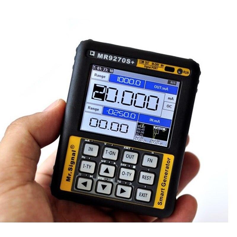 Модернизированный MR9270S + 4 20mA генератор сигналов калибровочный Ток Напряжение PT100 датчик давления термопары PID частотаГенераторы сигнала    АлиЭкспресс