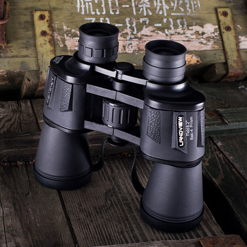 Powerful Binoculars Hunting 20X50 Telescope Professional High Magnification Eyepiece Waterproof HD Objective Military Optical