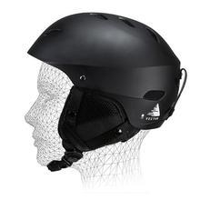 Professional Man Women Ski Helmet Integrally-molded Adult Motorcycle Skate Skateboard Snowboard Snow Outdoor Sports Safe Helmet недорого