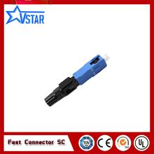 FTTH SC/UPC mm 50/125 fiber optic connector/sc fast connector 100PCS