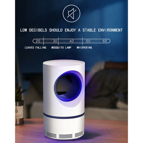 NEW Ultraviolet Low-voltage Light USB Mosquito Killer Lamp Safe Energy Power Saving Efficient Photocatalytic Anti Mosquito Light Lahore
