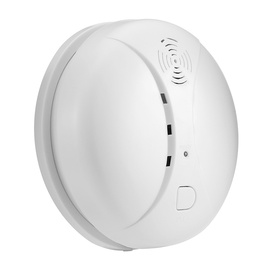 433MHz Wireless Smart Smoke Detector Home Security Alarm Detection System Anti-Fires Alarm Sensor For Smart Home No Need Gateway