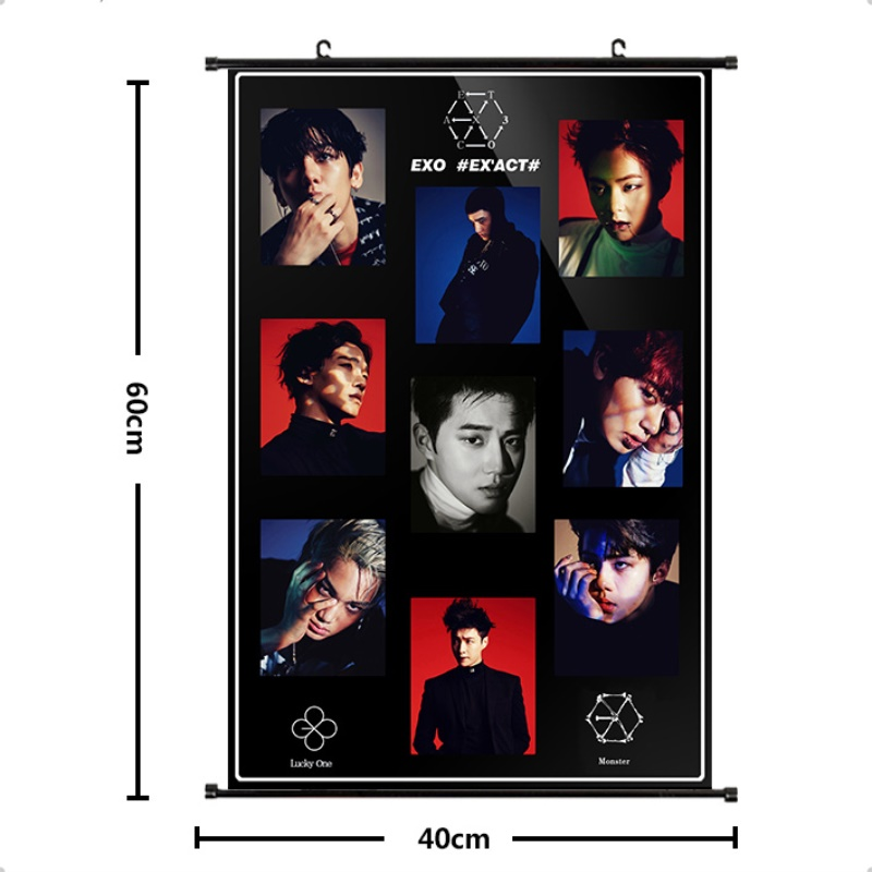Jewelry & Accessories Kpop Exo Dont Mess Up My Tempo Wall Scroll Poster Chen Xiumin Hang Up Fabric Photo Picture