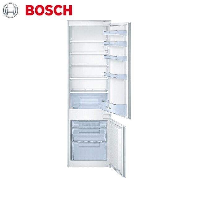Встраиваемая холодильно-морозильная комбинация с нижней морозильной камерой Bosch Serie|4 KIV38X22RU