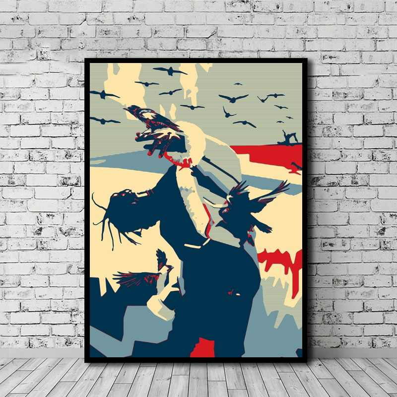 72692da57b3e Travis Scott Poster Canvas Painting Print Wall Art Home Decor No Frame  Dropshipping