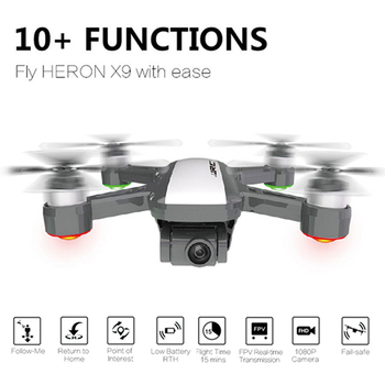 JJRC X9 Heron gps 5G WiFi FPV с 1080 P камерой оптическое позиционирование потока RC Дрон Квадрокоптер RTF