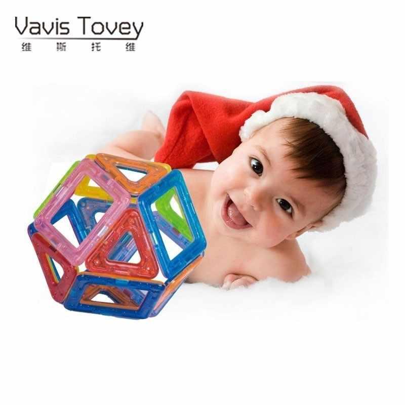 Vavis โทวี MINI DIY Variety Magic แม่เหล็กดึง Magnetic Building Blocks ของขวัญ