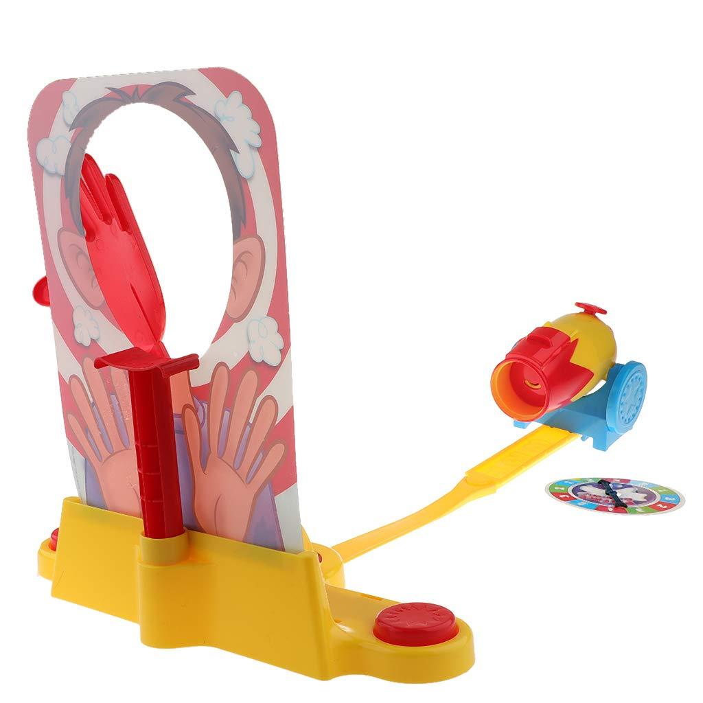 Gâteau farine crème frappé visage Machine drôle jeu nouveauté Gags blagues pratiques jouets cadeau d'anniversaire pour enfants enfant en bas âge