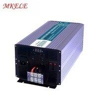 Pure Sine Wave Power MKP5000 121 Off Grid 5kw Solar Inverter 12v 110v 5000w Universal Socket For Home Application