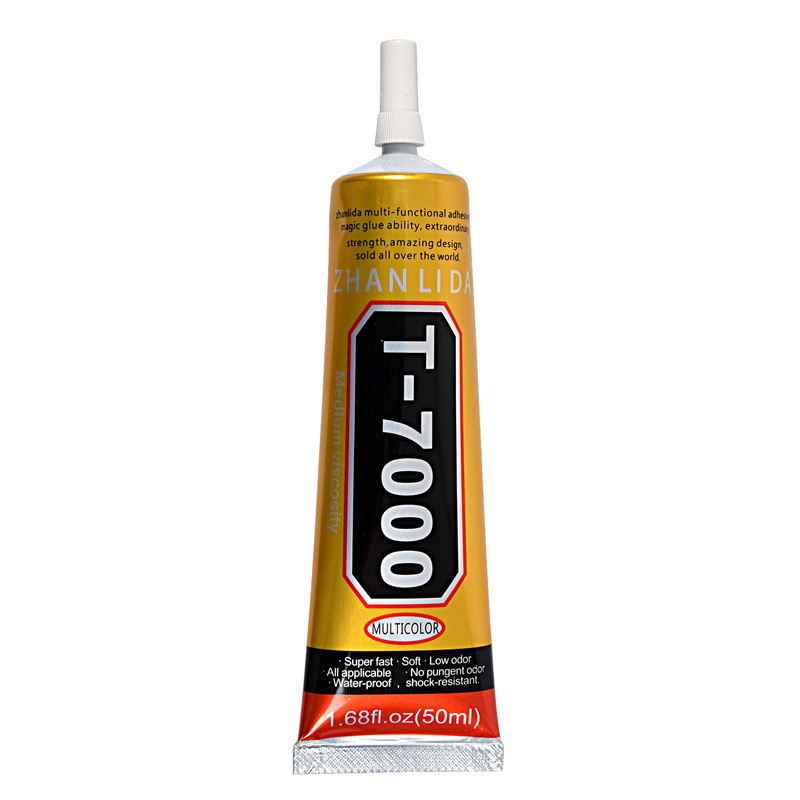 50ml T-7000 Glue Black Gel Super Adhesive for Leather Jewelry Plastic Wood Industrial Use Details Model: T-7000 Adhesive Glue G g 3pcs pottery tools 18 5cm 26cm 31cm wood calipers for proportioning t