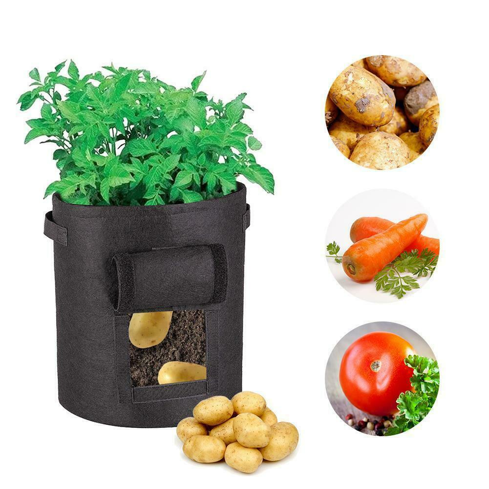Kartoffel-Pflanzsack Pflanztopf Kartoffelanbau Pflanztasche Pflanzbeutel Balkon