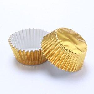 Image 3 - 100 pçs mini cupcake forros bolo de papel cozimento copo muffin casos natal wending ferramentas