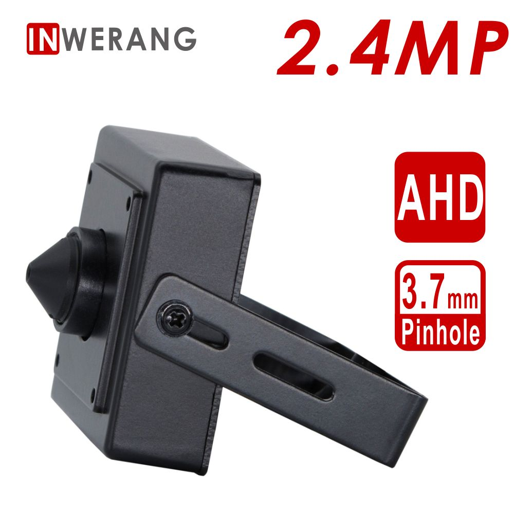 Inwerang 2.4MP mini Type Camera  AHD CCTV Security, HD 1080P Mini 3.7mm Lens Indoor Metal Security CameraInwerang 2.4MP mini Type Camera  AHD CCTV Security, HD 1080P Mini 3.7mm Lens Indoor Metal Security Camera