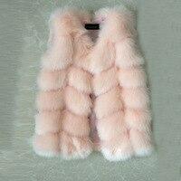 New Fashion Girl Winter Fur Coat children furry Clothes baby Girls and Boys Imitation Fox Fur Coat Jacket