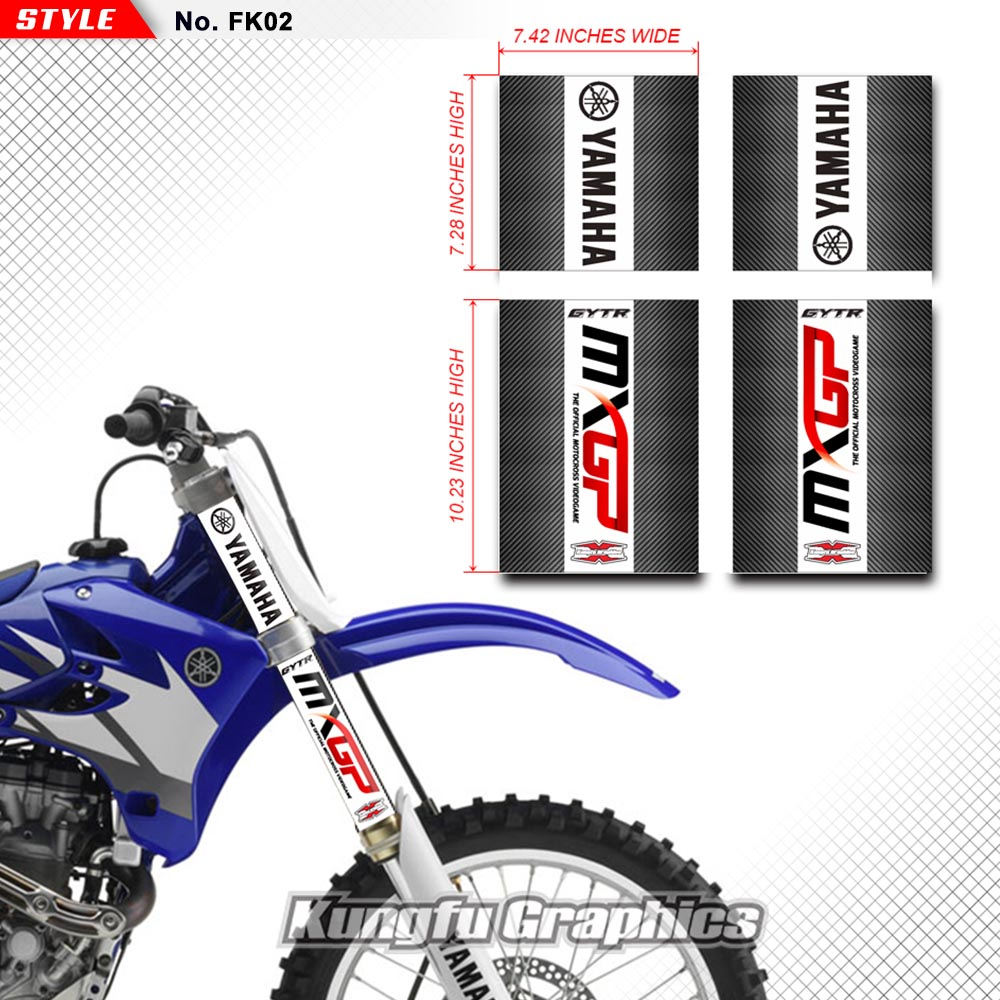 Decal Kit High Quality Motosport Yamaha Factory Racing White Sk 160