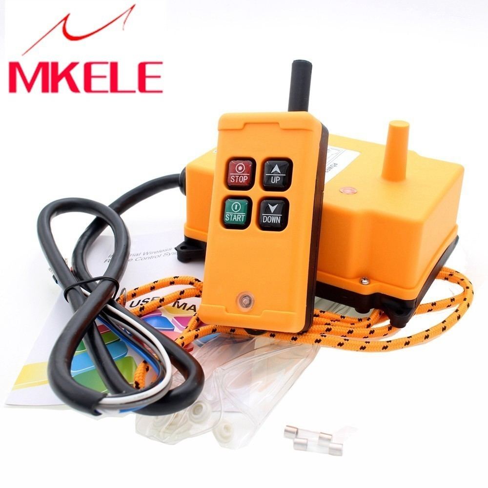 HS 4 Wireless Transmitter New Arrivals Crane Industrial Remote ControlPush Button Switch China High Quality