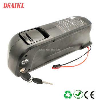 Free shipping 36V 48V 52V Ebike shark battery pack 10 4Ah 11 6Ah