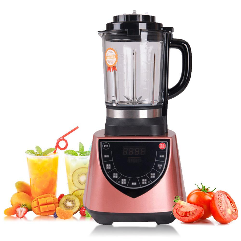 Rose Golden Stainless Steel Multi-function Household Cooking Machine Blender Machine Glass Heating Health Machine Rose Golden Stainless Steel Multi-function Household Cooking Machine Blender Machine Glass Heating Health Machine