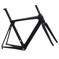 11,11 700C мужская углерода Аэро Дорожный велосипед кадр UD матовый BB86 & Di2 50/52/54/56/58 см велосипедные шлемы framesets