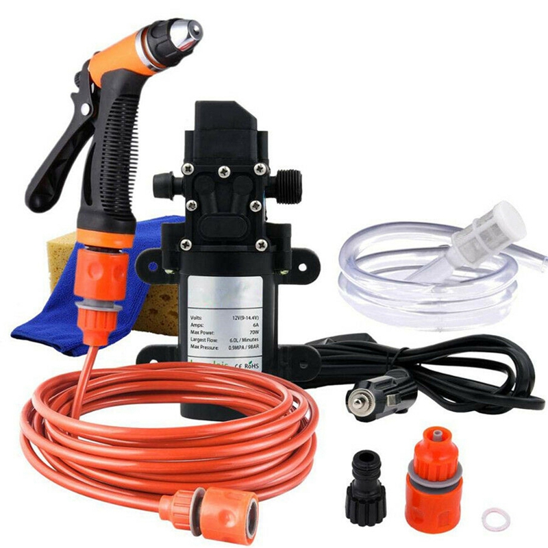 Car Wash 12V Washer Pump High Pressure Cleaner Electric Cleaning Auto Device(China)
