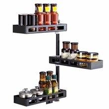 Escurridor De Platos Keuken Almacenamiento Stainless Steel Rotate Cuisine Mutfak Rack Cocina Organizador Kitchen Organizer