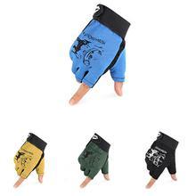 Outdoor Sport Fishing Gloves 1Pair/Lot 3 Half-Finger Breathable Anti-Slip Glove Wear-resistant Equipment