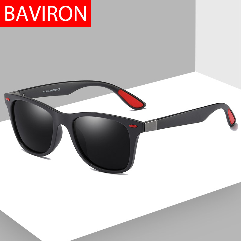 16e7200b65 BAVIRON Polarized Sunglasses Men Designer Retro Classic Sunglasses Man  Drive Sun Glasses Classic Fashion Influence Eyewear ...