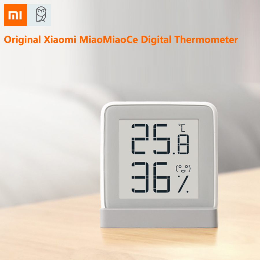 Xiaomi Mijia MiaoMiaoCe E Link INK Screen Display Digital Moisture Meter High Precision Thermometer Temperature Humidity