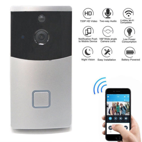 Smart Wifi Doorbell Wireless HD Video Camera Intercom Phone Ring Night Vision Hot DoorbellsSmart Wifi Doorbell Wireless HD Video Camera Intercom Phone Ring Night Vision Hot Doorbells