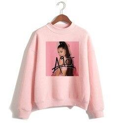 Ariana Grande Sweatshirt 2019 No Tears Left To Cry Hoodie Women Print God Is A Woman Sweatshirts Pullover hoodies Harajuku 1