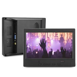 Image 4 - Moniteur Portable 7 pouces 1024x600 16:9 Support daffichage multifonctionnel entrée HDMI/VGA/AV pour Raspberry Pi pour écran de voiture/CCTV