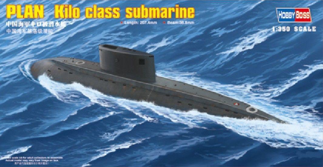 Hobbyboss 1/350 83501 PLAN Kilo Class Submarine Model Kit
