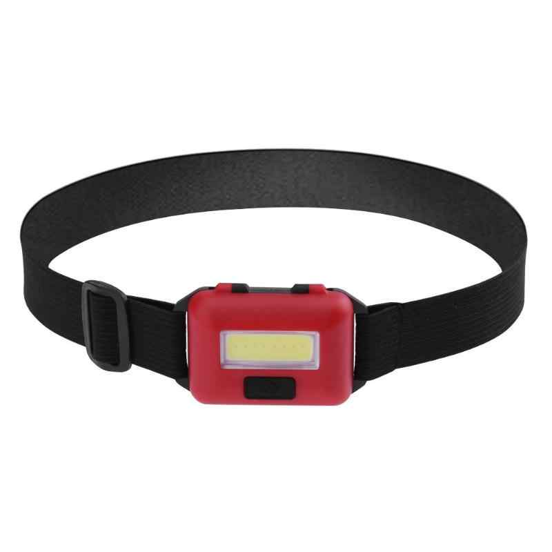 Imperméable à l'eau 3 Modes étanche COB lampe de poche LED à l'extérieur phare phare phare lampe torche lanterne avec bandeau U