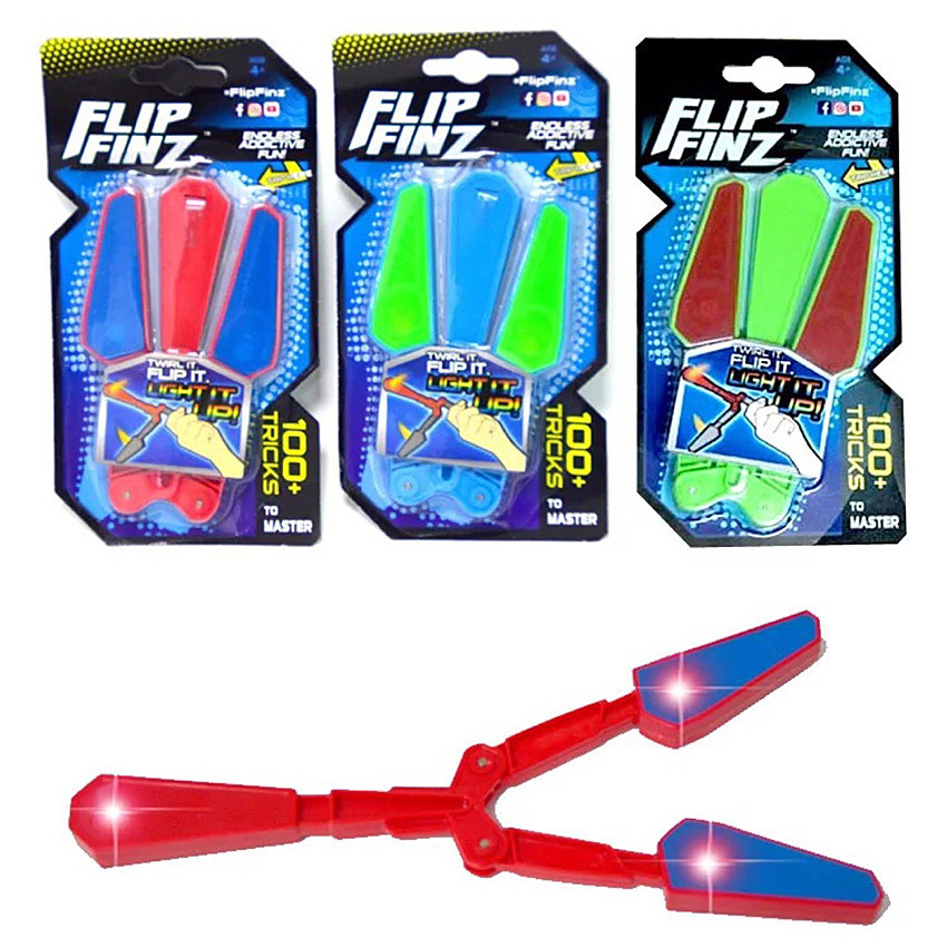 Children Flip Butterfly Knife Flipper Toys Endless Addictive Fun Twirl It With LED Master Light Up Finz Antistress Toy