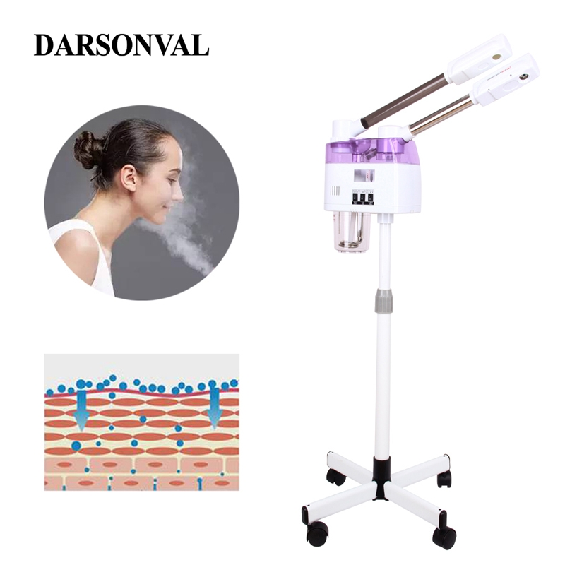 Facial Steamer Face Steaming Device Skin Pore Steam Machine Facial Cleaning Beauty Machines Salon Cold Hot Mist Sprayer Beauty