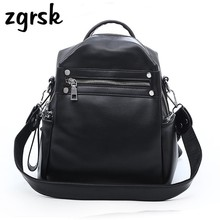 Fashion Women Backpack Pu Leather Brands Female Backpacks High Quality Schoolbag Backpack Elegant Mochilas Escolar Feminina dicool high quality pu leather backpack school travel bag backpack women famous brands backpack bolsos mujer vintage backpacks page 5